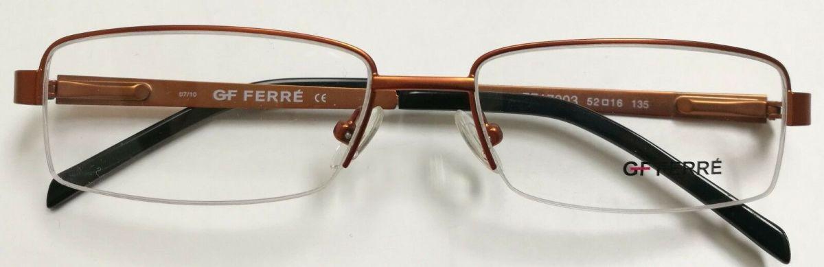 GF FERRE FF17003 dámské dioptrické brýle poloobruby