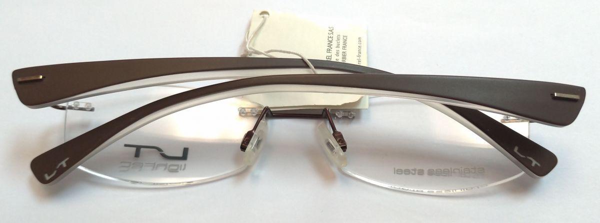 MOREL Lightec 6642L dámské bezrámové vrtané brýle