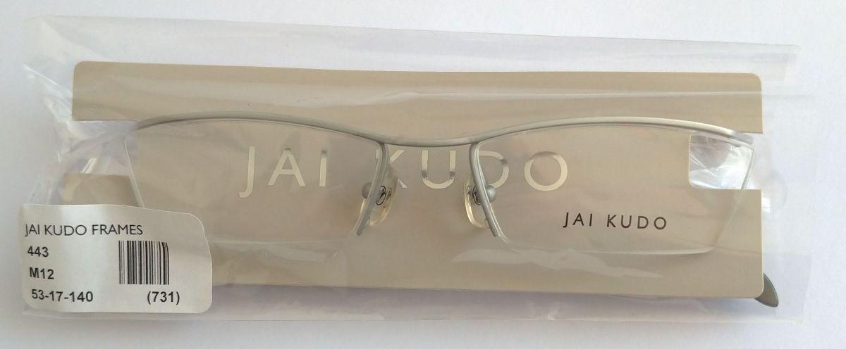 JAI KUDO 443 M12 unisex brýlové poloobruby 53-17-140