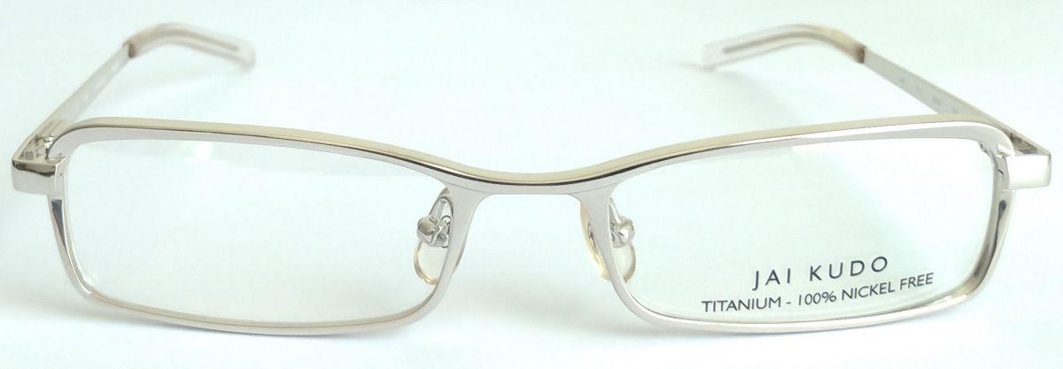 JAI KUDO 1481 T12 unisex titanové brýlové obruby 50-17-135 mm
