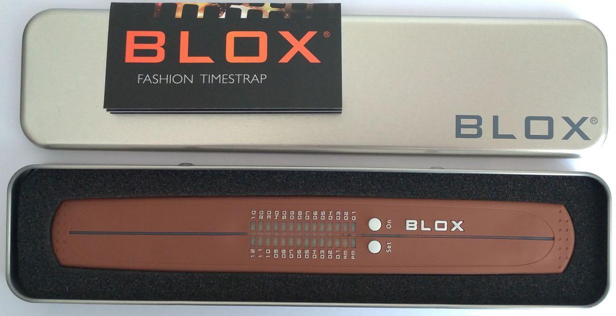 BLOX BX15015 binární led unisex hodinky