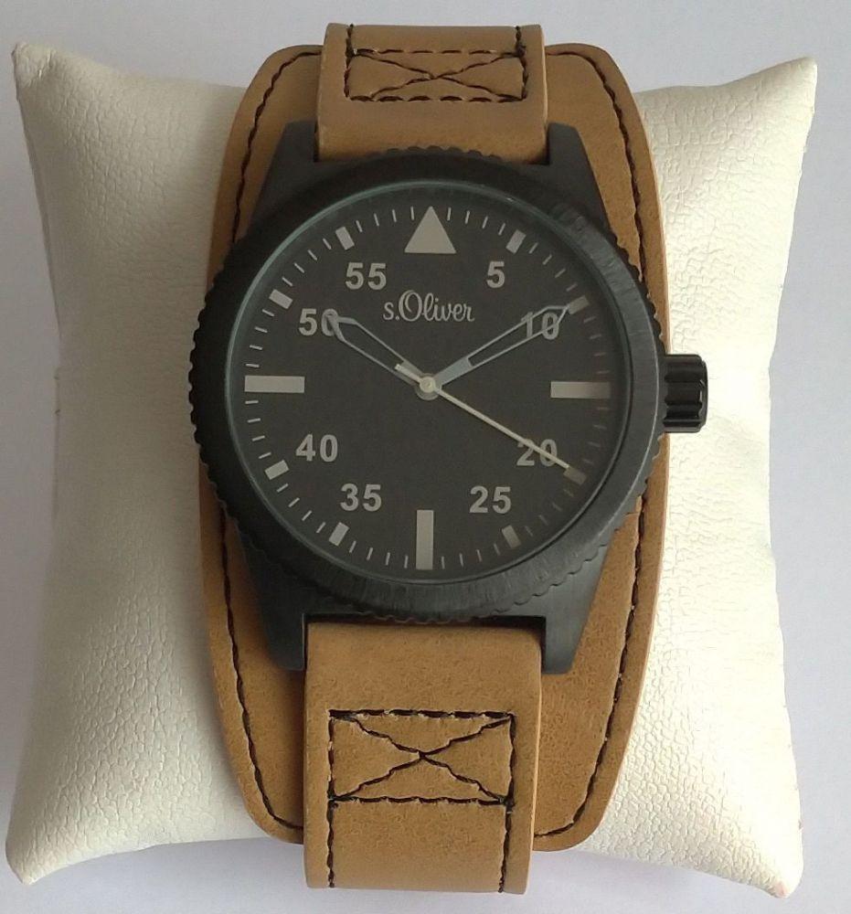 s.Oliver SO-15151-LQR pánské hodinky