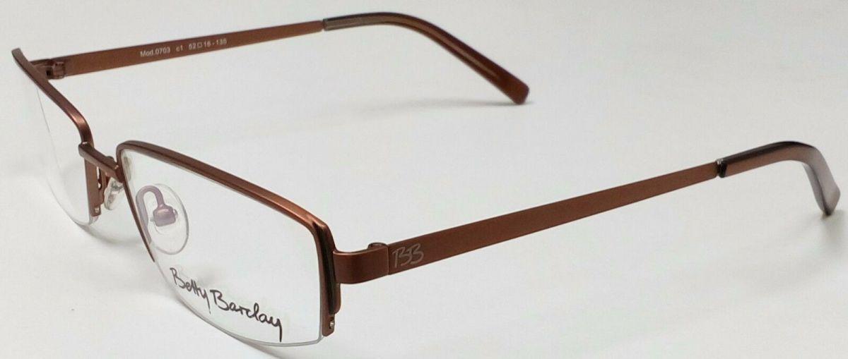 BETTY BARCLAY 0703 dámské dioptrické brýle / poloobruby