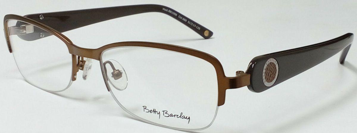 BETTY BARCLAY BB1098 660 dámské dioptrické brýle poloobruby