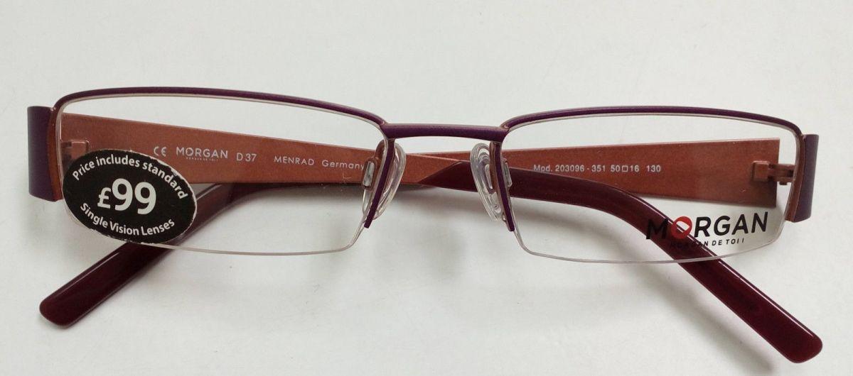 MORGAN 203096-351 dámské poloobruby na dioptrické brýle